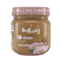Пюре Беллакт Premium кролик, 80гр