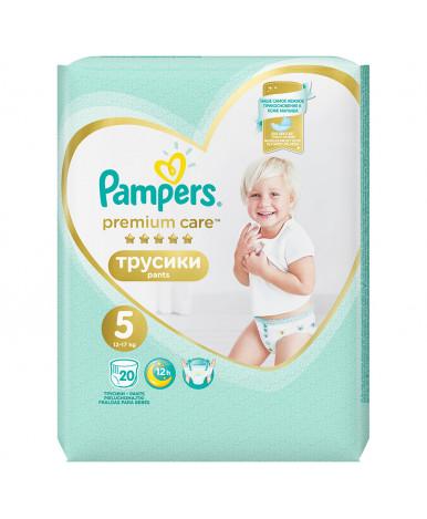 Подгузники-трусики Pampers Premium Care 5 (12-18 кг) 20шт