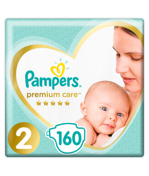 Подгузники Pampers Premium Care 2 (3-6кг) 160шт
