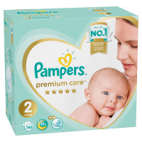 Подгузники Pampers Premium Care 2 (3-6кг) 160шт