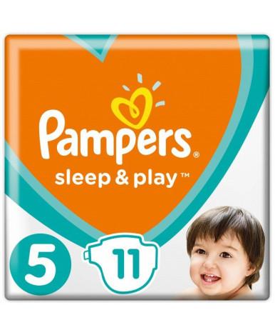 """Подгузники """"Pampers"""" Sleep&Play 5 (11-16 кг) 11шт"""