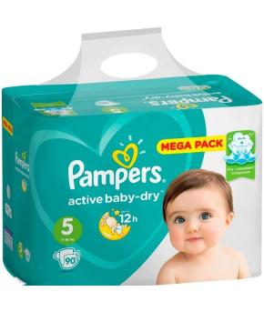Подгузники Pampers Active Baby 5 (11-16кг) 90шт