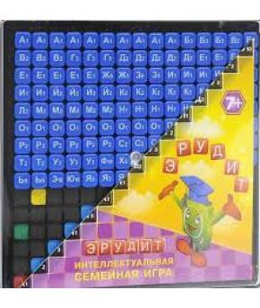 Настольная игра Эрудит синие фишки