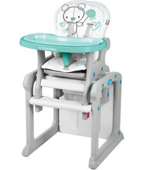 Стульчик для кормления Baby Design Candy NEW 2019 05 turquoise