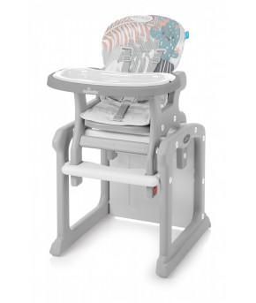 Стульчик для кормления Baby Design CANDY NEW 2019 07 gray