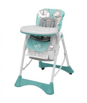 Стульчик для кормления Baby Design PEPE 05 turquoise