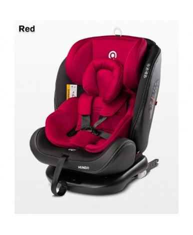 Автокресло Caretero Mundo Isofix Red (0-36кг)