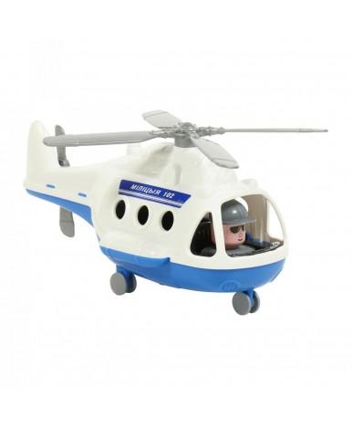 Вертолёт полицейский Полесье  Альфа (в коробке) (РБ)