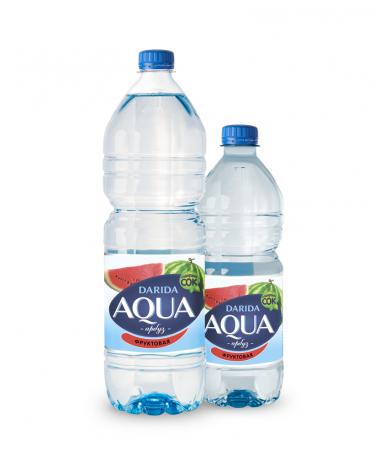 """Вода """"Darida"""" Aqua фруктовая с ароматом арбуза негазированная, 0,75л"""
