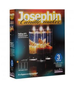 Гелевые свечи с ракушками Набор №4