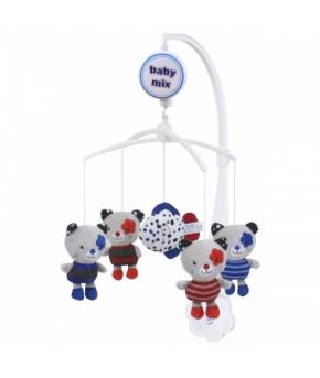 Каруселька BabyMix Котята с плюшевыми игрушками