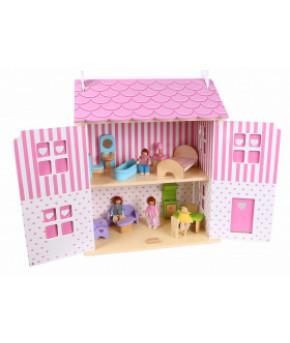 Домик для кукол 5 Земляничный 4104
