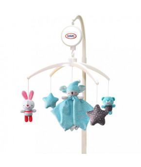 Каруселька BabyMix Сонное царство с плюшевыми игрушками