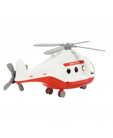 Вертолёт Полесье Альфа скорая помощь (в сеточке)