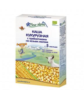 "Каша ""Fleur Alpine"" Organic кукурузная на козьем молоке, 200гр"