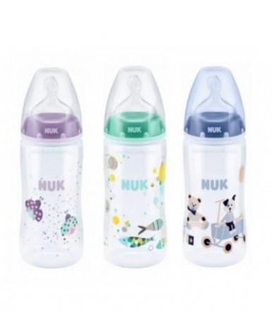 """Бутылочка """"Nuk"""" First Choice Plus с силиконовой соской, 300мл"""