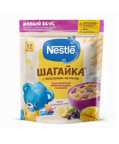 Каша Nestle мультизлаковая банан с фигурками Манго Черная Смородина 190г