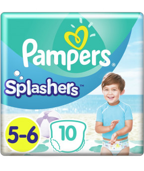 Подгузники-трусики Pampers Splashers для плавания 5-6 (14+ кг) 10шт