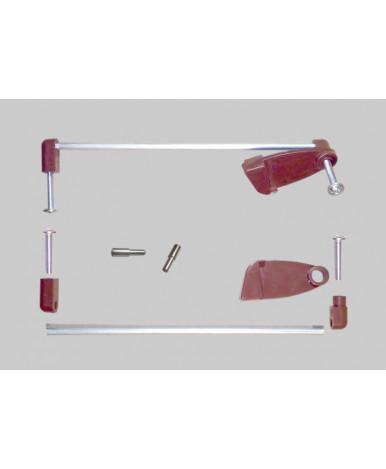 Кровать трансформер Bambini М 01, слоновая кость