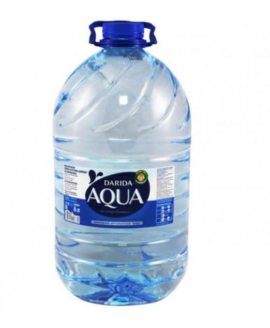"""Вода """"Darida"""" Aqua негазированная, 6л"""