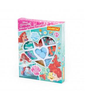 Набор Полесье для детского творчества Disney Принцесса. Ариэль (187 элементов) (в коробке)