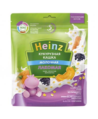 Каша Heinz кукурузная тыква чернослив морковь мягкая упаковка 170г