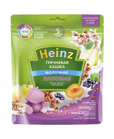 Каша Heinz гречневая груша абрикос смородина мягкая упаковка 170г