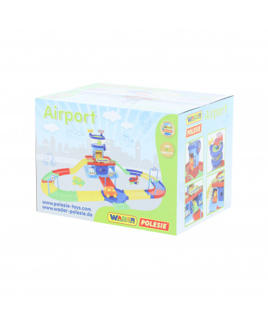 "Аэропорт Polesie ""Play City"" с дорогой (в коробке)"
