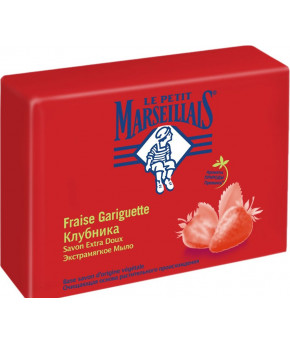 Мыло Le Petit Marseillais экстрамягкое клубника 90г