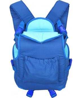 Рюкзак-кенгуру Фея Хлопок синий