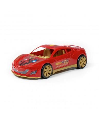 Автомобиль Полесье Marvel Мстители Железный Человек в коробке