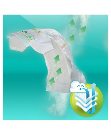 "Подгузники ""Pampers"" Active Baby 3 (4-9 кг) 62шт"