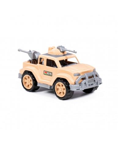 Автомобиль Полесье Легионер пикап-мини сафари с 2-мя пулемётами РБ (в сеточке)