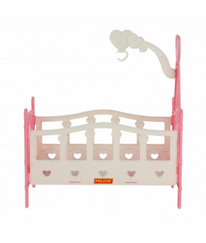 Кроватка для кукол Полесье сборная №3 (6 элементов)