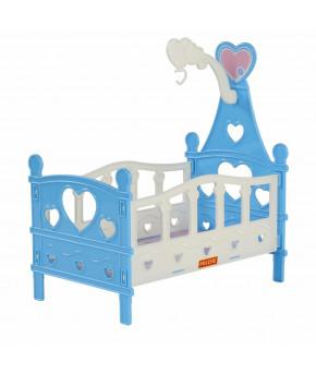 Кроватка Polesie сборная для кукол №3 (6 элементов) (в пакете)