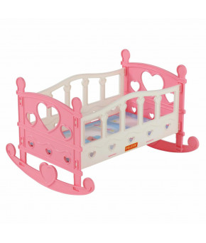 Кроватка для кукол Полесье №2 (7 элементов) (в пакете)