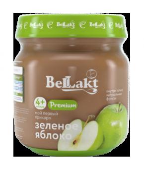 Пюре Беллакт Premium зелёное яблоко 80г