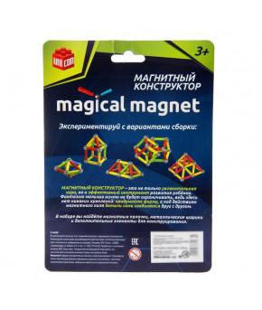 Конструктор магнитный Треугольник 28 деталей
