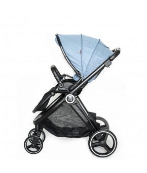 Модульная коляска 2 в 1 BabyZz В102 голубая