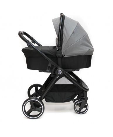 Модульная коляска 2 в 1 BabyZz В102 серая