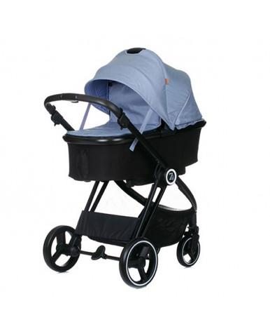 Модульная коляска 2 в 1 BabyZz В102 синяя