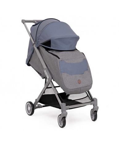 Прогулочная коляска BabyZz Prime серо-голубая