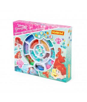 Набор Полесье для детского творчества Disney Принцесса. Ариэль (393 элемента) (в коробке)
