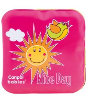 Развивающая игрушка-книжка Canpol с пищалкой День и ночь