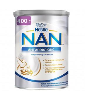 Смесь Nestle NAN антирефлюкс молочная, 400гр
