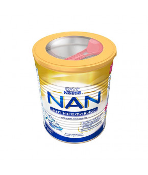 "Смесь ""Nestle"" NAN антирефлюкс молочная, 400гр"