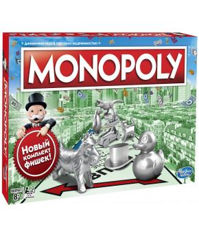 Настольная игра Monopoly Классическая Монополия. Обновлённая С1099