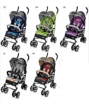 Прогулочная коляска Baby Design Travel серо зелёный