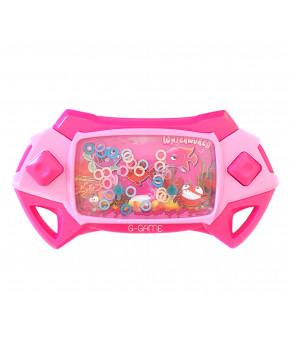 Игрушка детская Кольца розовая