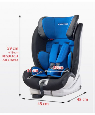 Автокресло Caretero Volante Isofix Limited Beige (9-36кг)